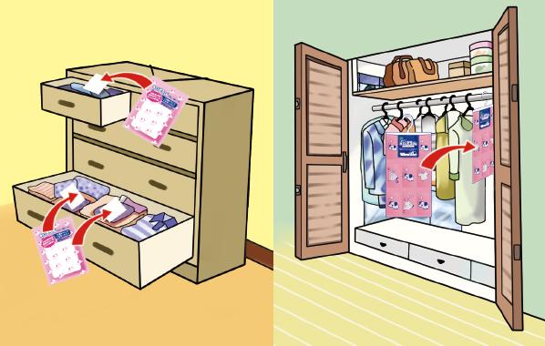 衣類の湿気とりならお任せ,除湿剤 湿気とり水とりぞうさんシートタイプ
